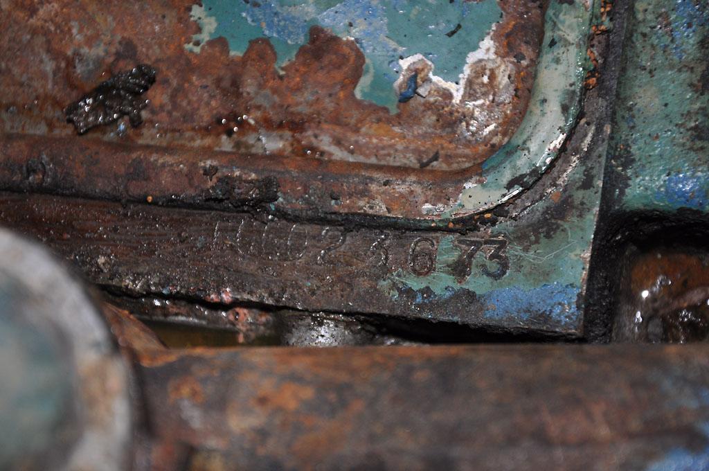 Engine serial number