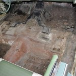 Floor Before Rust Repair