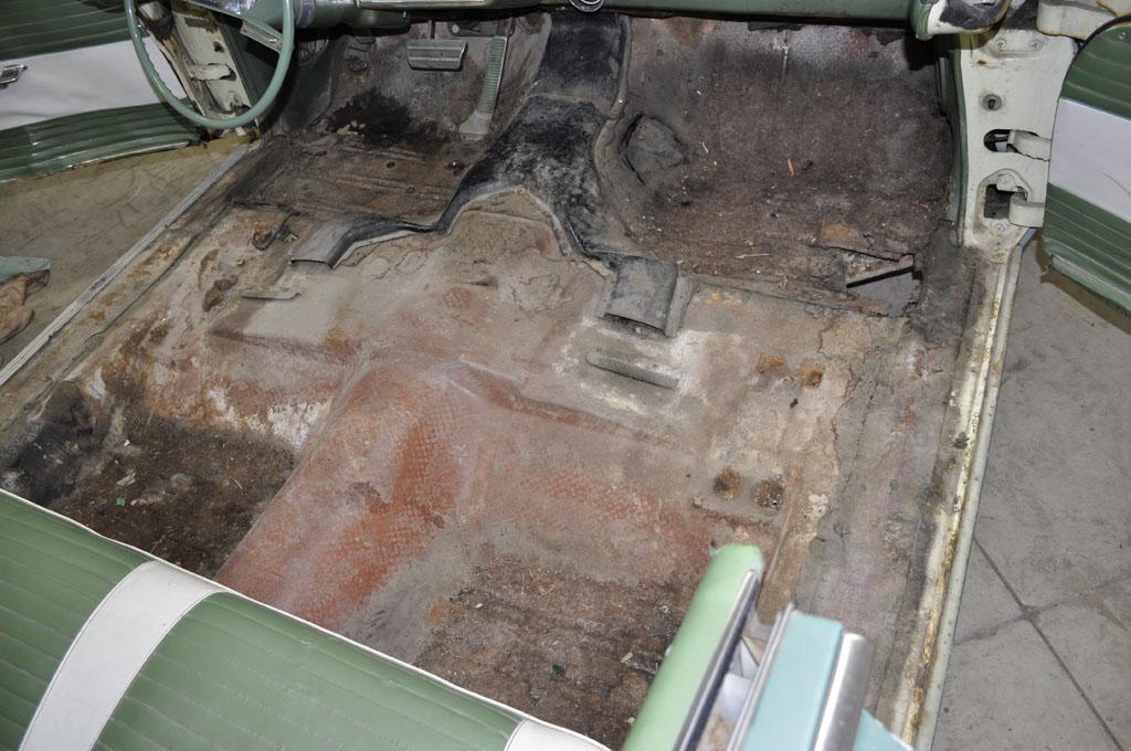 Floor Before Rust Repair