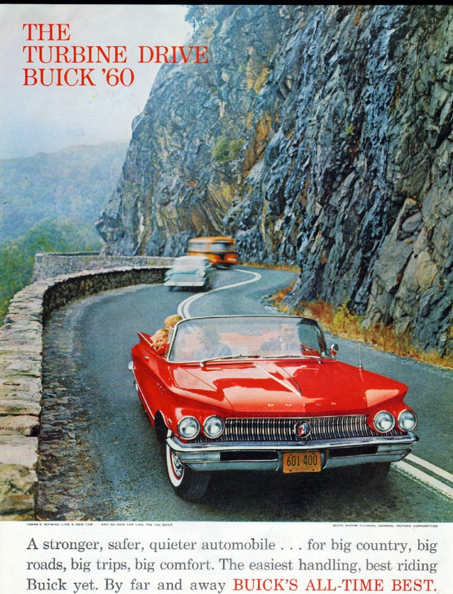 paper - ad - The Turbine Drive Buick