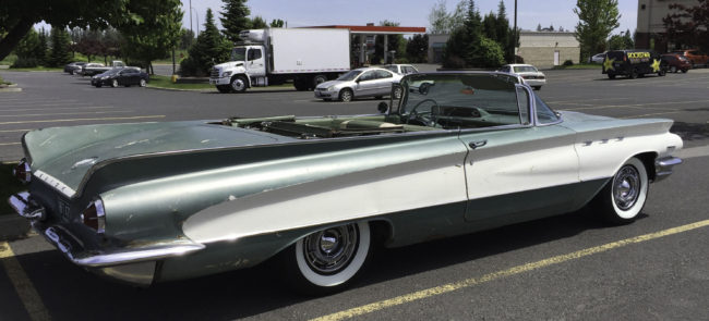 Had Wide White Wall Tires As An Option When Purchased New And Most Look Their Best Wearing A Set The 60 Buick Invicta Convertible Is No Exception